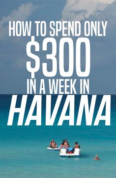 Saving money in Cuba is easy! If you do things like a Cuban, it's dirt cheap - even in Havana.