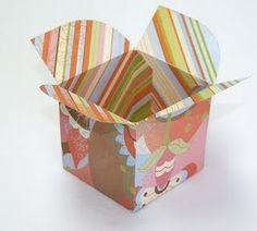 DIY cupcake box. so cute!!