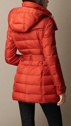 Down-Filled Coat with Detachable Hood | Burberry