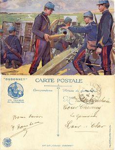Notre 75 - Chargez la pièce - 1914-1915 Collection 'Dubonnet' (from http://mercipourlacarte.com/picture?/1096/)