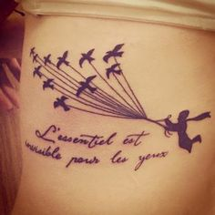 """32 Charming Tattoos Inspired By """"The Little Prince"""""""