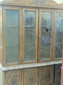 Vintage Bassett China Cabinet Gets A New LIfe