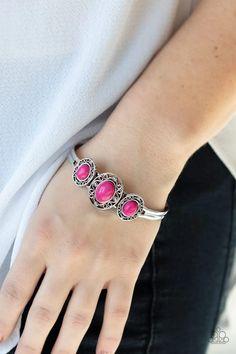 Stone Sage Pink Paparazzi Accessories Bracelet