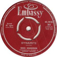 45-WB 361. Dynamite. Rikki Henderson. 45.