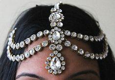 Jewel headpiece love the look!