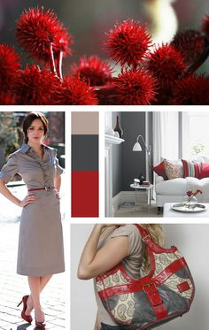 For Love of Color - red handbags