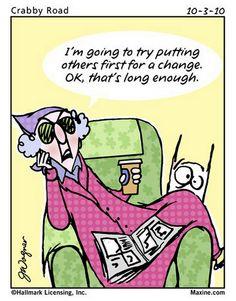 Maxine cartoons   Chuck's Fun Page 2: Some mildly amusing Maxine cartoons
