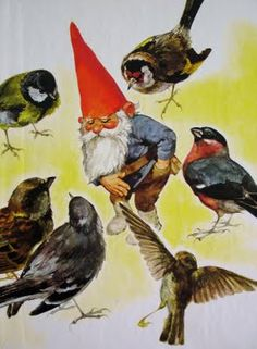 Rien Poortvliet - the Forest Gnome Norman Rockwell, Rockwell Kent, David The Gnome, Baumgarten, Humanoid Creatures, Kobold, Christmas Gnome, All Nature, Dutch Artists