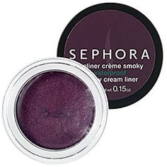 Love the way it goes on and stays on all day.  SEPHORA COLLECTION Waterproof Smoky Cream Liner - Waterproof Smoky Cream Liner Statue Bronze  #sephora