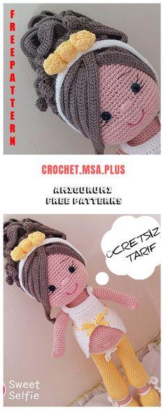 Amigurumi Pregnant Doll Free Crochet Pattern - Crochet.msa.plus Crochet Patterns Amigurumi, Amigurumi Doll, Crochet Toys, Free Crochet, Crochet Dolls Free Patterns, Crochet Doll Pattern, Doll Patterns, Diy Doll, Stuffed Toys Patterns