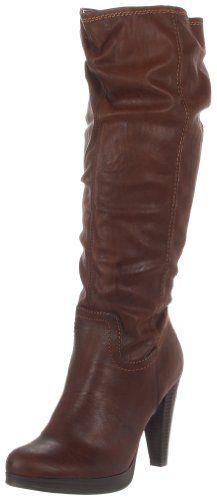 Sam & Libby Women's Javana Knee-High Boot,Dark Brown Faux Leather