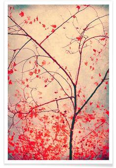 red october als Premium Poster door Ingrid Beddoes | JUNIQE