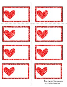 Muito Labels With Mosaic Heart Valentine Template Valentines Regarding Free Printable . Labels With Mosaic Heart Valentine Templ. Printable Lables, Free Printables, Printable Hearts, Valentine Decorations, Valentine Crafts, Valentine Template, Printable Valentine, Free Label Templates, Border Templates