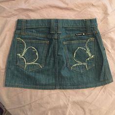 Frankie B. Denim mini skirt Frankie B. Denim mini skirt. Size 2. Frankie B. Skirts Mini