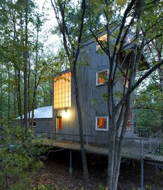 Cottage on Big Sand Bay Ontario - maybe this is what you can do with a small original footprint