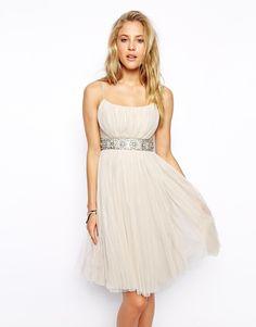 Image 1 ofNeedle & Thread Tulle Ballet Midi Dress