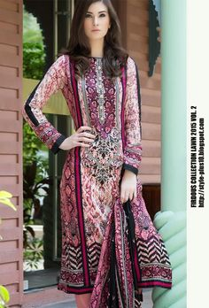 Design 19268 From Collection Lawn 2015 Vol.2 By Firdous