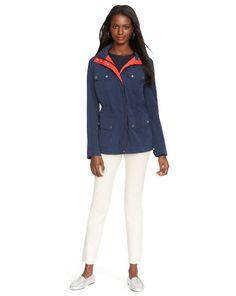 Hooded Full-Zip Jacket - Lauren Outerwear - RalphLauren.com