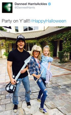 The Ackles Family Halloween :D