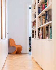 For the times we need extra inspiration, the entry to our office is filled with wonderful design and architecture books. We love books just as much as we love funky chairs. Funky Chairs, Creative Jobs, Interior Design Inspiration, Design Process, Design Trends, Designer, Architecture Design, Bookcase, This Is Us