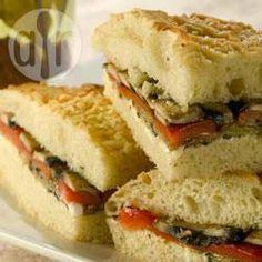 Mediterranean Roasted Vegetable Sandwich @ allrecipes.co.uk