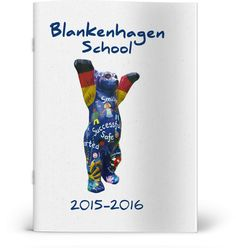 How happy does this bear look! A simple photo can really bring a cover design to life. Try snapping recognisable details and artwork around your school and incorporate them into your designs :) Yearbook Covers, Simple Photo, Cover Design, Bear, School, Happy, Artwork, Life, Work Of Art