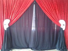 Phantom of the opera theme party backdrop