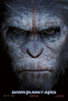 Dawn of the Planet of the Apes   #movies #posters