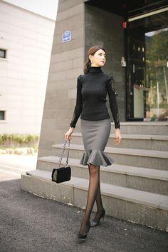 Pin on Women& Style Summer Pin on Women& Style Summer Women's Summer Fashion, Daily Fashion, Fashion Beauty, Girl Fashion, Womens Fashion, Korea Fashion, Asian Fashion, Komplette Outfits, Fashion Outfits