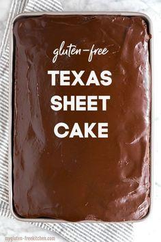 Gluten Free Deserts, Gluten Free Sweets, Gluten Free Cakes, Gluten Free Chocolate, Foods With Gluten, Gluten Free Cooking, Sans Gluten, Dairy Free Recipes, Gluten Free Menu