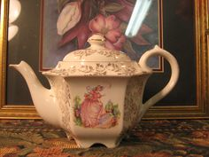 Sadler Hexagonal Teapot Excellent Condition by alilacollections