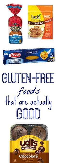 A list of gluten-free products that I don't actually hate, inducing delicious hamburger buns and panko bread crumbs!