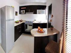 Resultado de imagen para decoracion de salas comedor para casas de infonavit #casaspequeñasinfonavit