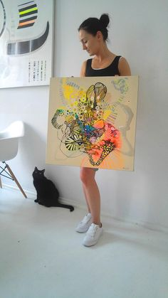 Painting on canvas Abstract Original Paintings Art Artwork