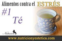 A diferencia del café, el té tiene la reputación de ser una bebida para la hora de dormir. Y aunque hay un poco de cafeína en ciertos tipos de té.......    Para mas inorfamacion encuentranos en: http://nutricionylaestetica.blogspot.com/2013/02/1-te-alimentos-para-combatir-el-estres.html