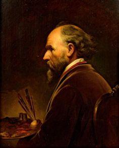 The Athenaeum - Self portrait (Friedrich von Amerling - )