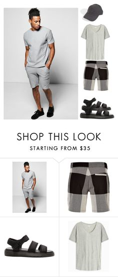 """Want To Try this Style..!!"" by yagna ❤ liked on Polyvore featuring Boohoo, Neil Barrett, Dr. Martens, Orlebar Brown, STONE ISLAND, men's fashion and menswear"