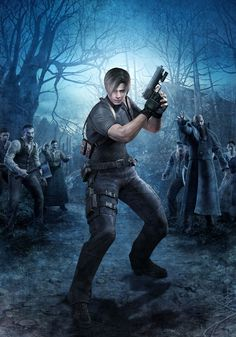 Leon Kennedy is the reason I began playing Resident Evil. Leon S Kennedy, Evil Games, Resident Evil Game, Evil Art, Xbox 1, Playstation 2, Video Game Characters, Best Games, Geeks
