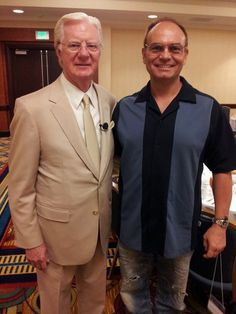 Mitch Carson and Bob Proctor
