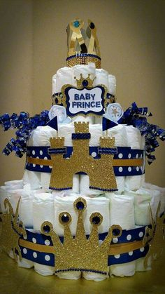 royal baby showers royal blue baby