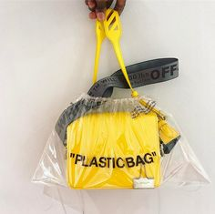 """WEBSTA @ off____white - """"binder clip"""" handbags and new accessories sold separately Fashion Bags, Fashion Outfits, Fashion Trends, Off White Virgil Abloh, T Shirt Original, White Purses, Cute Bags, Beautiful Bags, My Bags"""