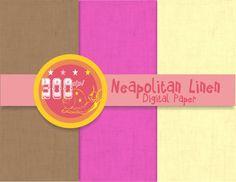 Linen digital paper 'Neapolitan Linen backgrounds by GemmedSnail, $1.20 Digital Scrapbook Paper, Digital Papers, Digital Backgrounds, Design Elements, Scrapbooking, Frame, Elements Of Design, Frames, Scrapbook