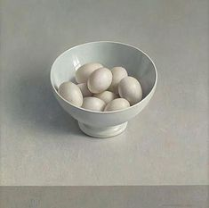 witte kom met eieren,1999,  Henk Helmantel