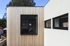 Our Siberian Larch cladding has arrived on site at our Leyton project, can't wait for it to be fitted, it will hopefully look as amazing as this pic! Aluminium Facade, Aluminium Windows, Larch Cladding, House Cladding, Mont Saint Aignan, Sustainable Building Materials, Roof Extension, Extension Ideas, Base Building