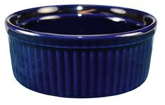 International Tableware Ceramic Fluted Ramekin 8 oz Cobalt Blue *** You can get more details by clicking on the image.(This is an Amazon affiliate link and I receive a commission for the sales)