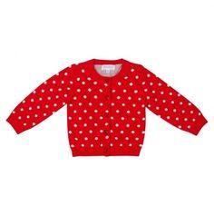 polka dot sweater- cuteee
