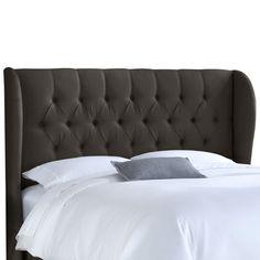 House of Hampton Handley Linen Diamond Upholstered Headboard & Reviews | Wayfair
