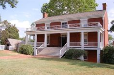 McLean House, Appomattox, VA  Where Lee Surrendered to Grant ending the Civil War