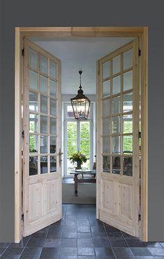 binnendeur hout glas - Google zoeken