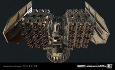 ArtStation - In-game Weapons for Call of Duty: Infinite Warfare., elite3d studio